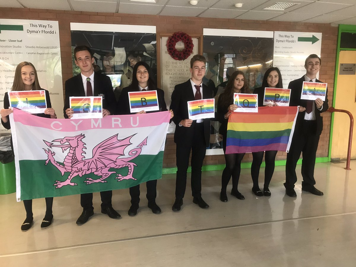 Mountain Ash Comprehensive School leading the way to LGBT inclusion and awareness